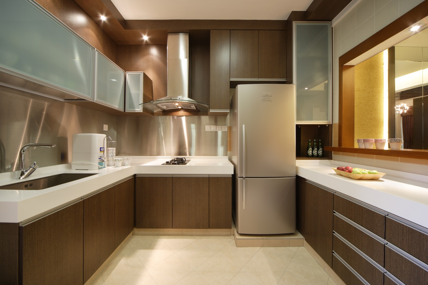 Landed Property Kitchen Interior Design Singapore | Landed