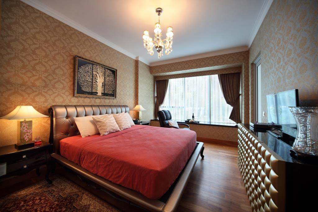 HDB Master Bedroom Interior Design Singapore | HDB Master Bedroom