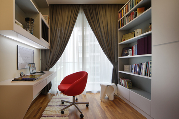 Condo interior designers condo interior design services for Study interior design