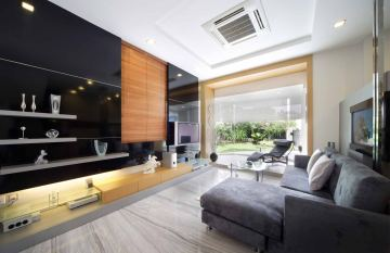 Interior designers decorators singapore vegas interior for Condo ceiling design