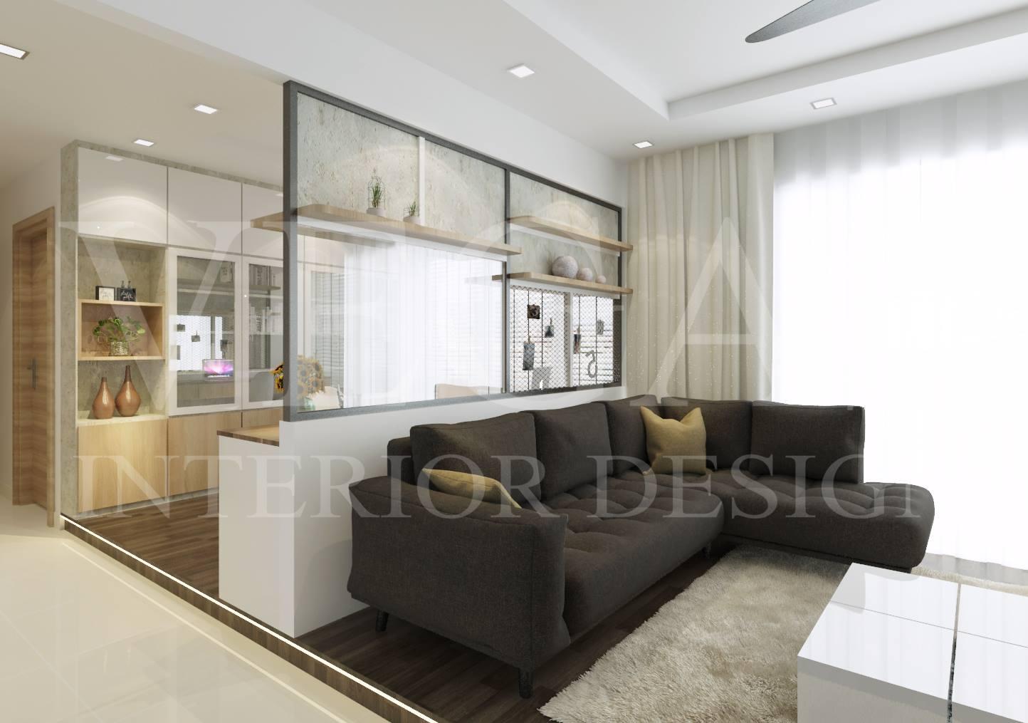 A Modern, Warm And Elegant House