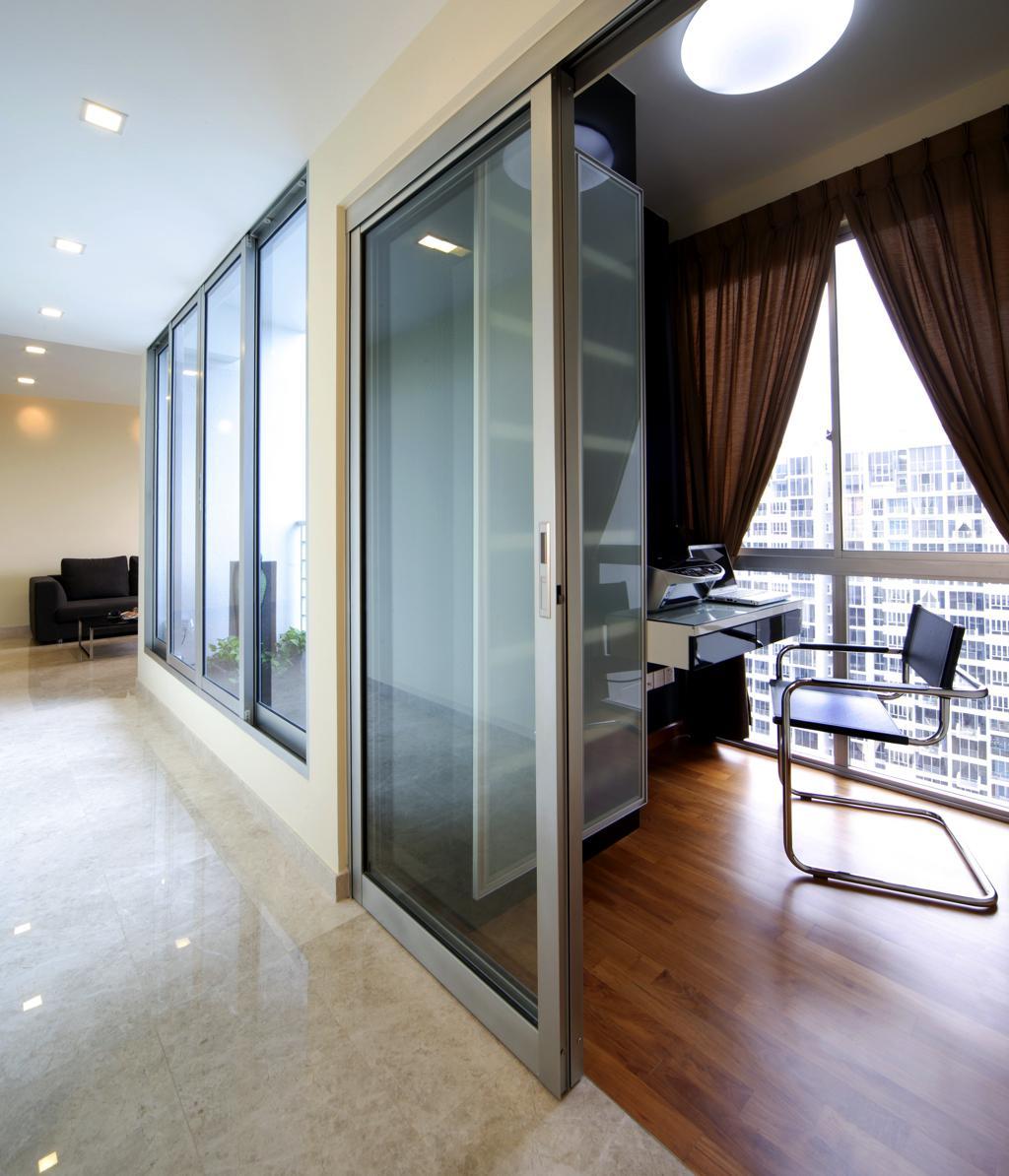 Study Room Interior Design: Grandeur-condo-interior-study-room-design